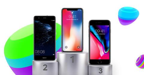 TOP 10: De mest populære mobiler i december