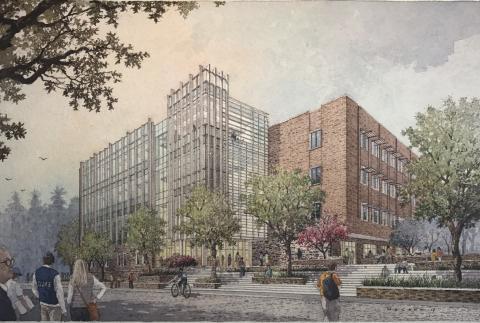 Skanska bygger lokaler för ingenjörsstudenter i North Carolina, USA, för USD 85M, cirka 690 miljoner kronor