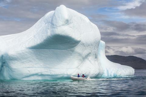 Expedition VEGA använde Hondas båtmotor och elverk
