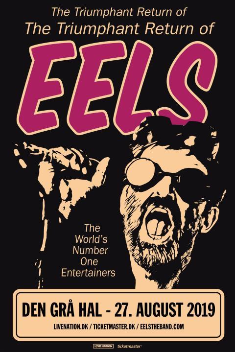 Eels, med sanger/  sangskriver Mark Oliver Everett i front, kommer til Den Grå Hal 27. august.