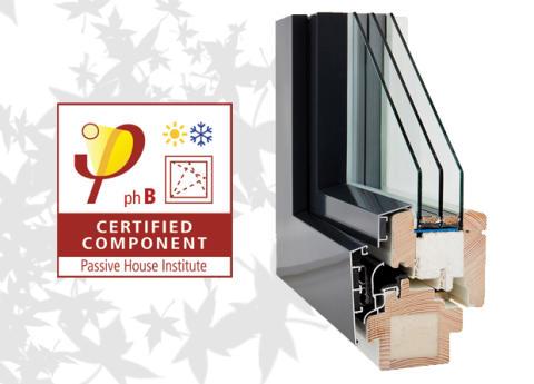 Ekstrands presenterar EC/90 Plus+ trä/aluminium, ett underhållsfritt passivhusfönster!