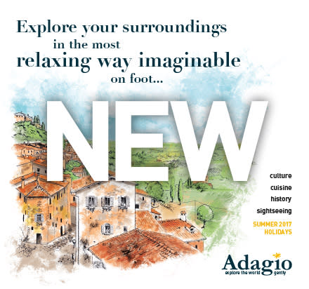 Adagio Launches New Range of Leisurely Holidays on foot