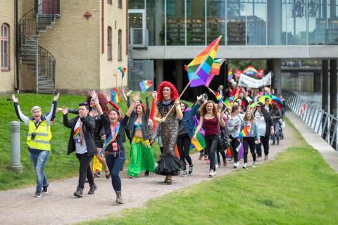 150 hbtq-aktivister träffas i Halmstad under en helg