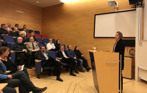 Stort intresse för seminarium