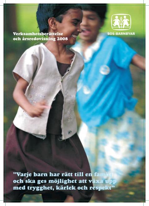 SOS-Barnbyars årsredovisning 2008