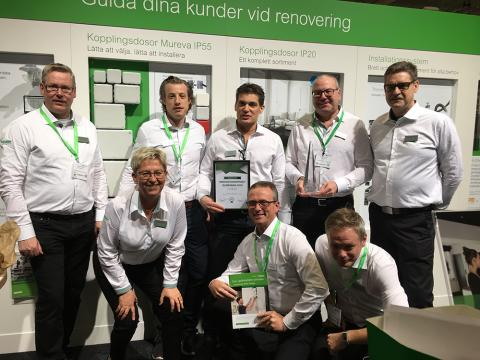 Elbranschens innovationspris till Schneider Electric