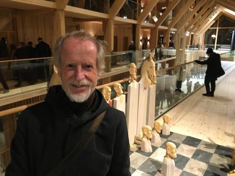"""Lars Aggers """"Livets schack"""" har hittat hem till Lindesberg - efter 27 år"""