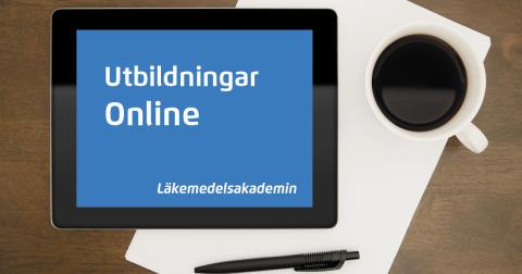 Läkemedelsakademin erbjuder ännu mer utbildning online