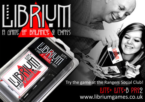 LIBRIUM ~ A Game of Balance and Chaos!