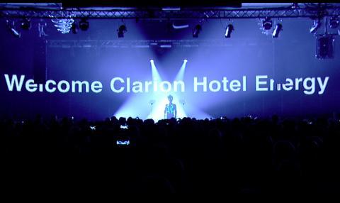 Elektrisk stemning under innvielsen av Clarion Hotel Energy