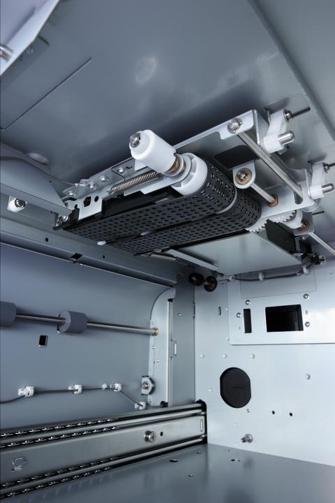 bizhub PRESS C8000e - vakumassistert transportbelte