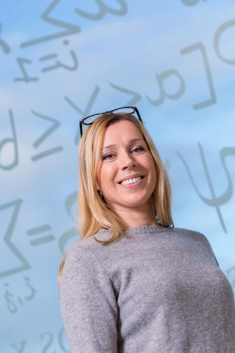 Jenny Greberg, vice vetenskaplig ledare för Framtidens gruvor vid Luleå tekniska universitet