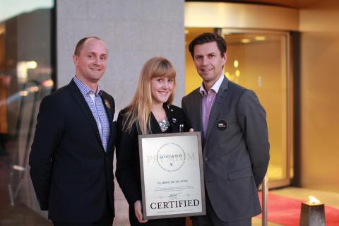 Clarion Hotel Post är Safehotels certifierat