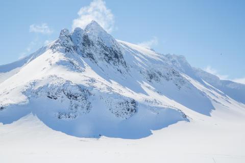 Ski touring Sylarna