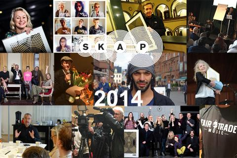 Så var musikskaparnas år 2014 – SKAP:s årskrönika