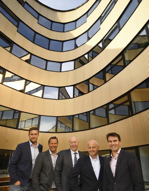 Ledergruppen Sopra Steria i Trondheim