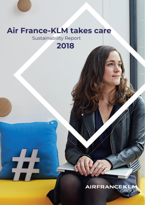 Air France-KLM's 2018 Sustainability Report