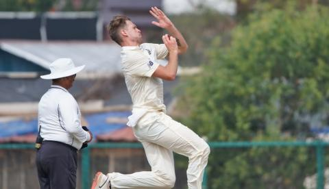 Late wickets sees India A reach 282/3 on day one of second unofficial Test against England Lions