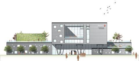 NEXT bygger nyt gymnasium i Albertslund