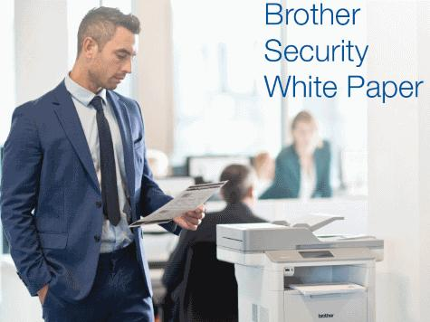 White paper de Brother révèle des solutions sécurisées