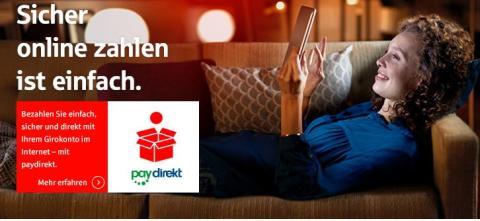 paydirekt - Das komfortable Bezahlsystem der Sparkasse Neuss
