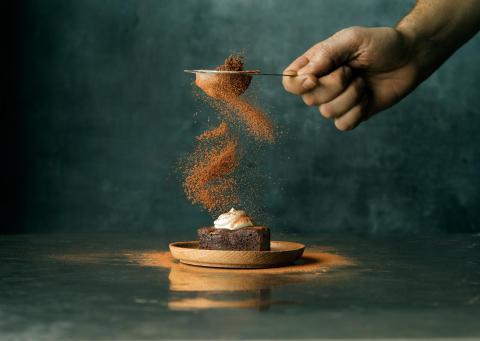 Chokladiga Brownie Bites