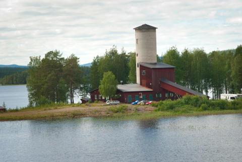 Gruvlaven med restaurangen Krogen i Skogen, Mensträsk