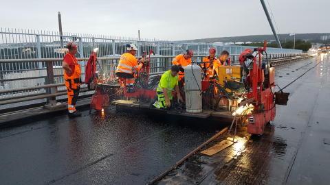 Älvsborgsbron renoveras i treskift