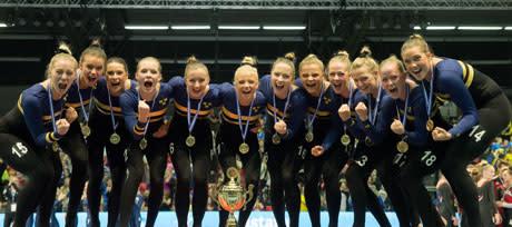 Svenska landslagen i truppgymnastik åker till Slovenien för att försvara tre EM-medaljer