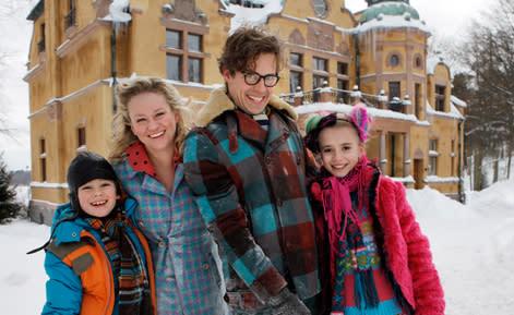 Årets julkalender utspelar sig i Stena Fastigheter lokaler