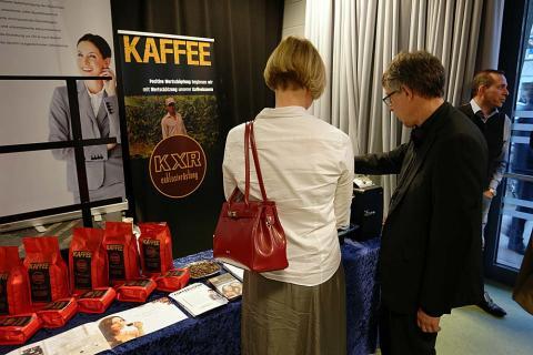 Coffeeontop GmbH präsentierte sich bei der Ausstellung des Freundeskreis Hannover e.V.