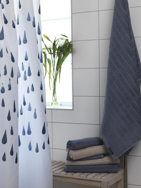 Shower curtain Flow, Terry towel Novalie Stripe_2