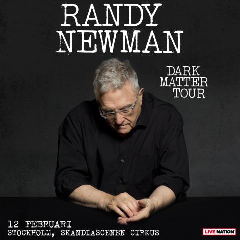 Randy Newman till Sverige med Dark Matter Tour!