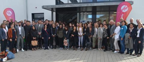 HdWM: Präsidentin Prof. Perizat Daglioglu begrüßt 120 Erstsemester in neun Studiengängen