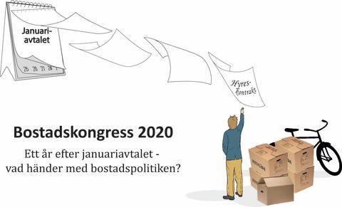 PRESSINBJUDAN: Bostadskongress 2020 i Västerås