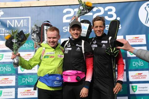 Tarjei Bø Norgemester på sprint