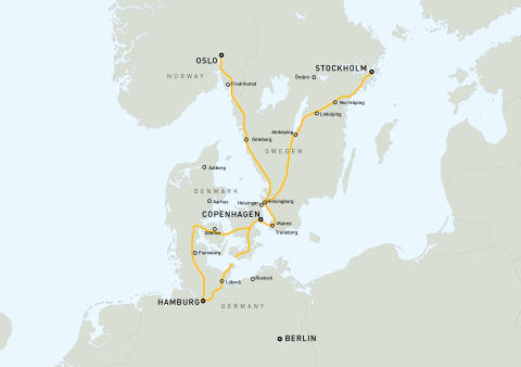 Karta över projektet