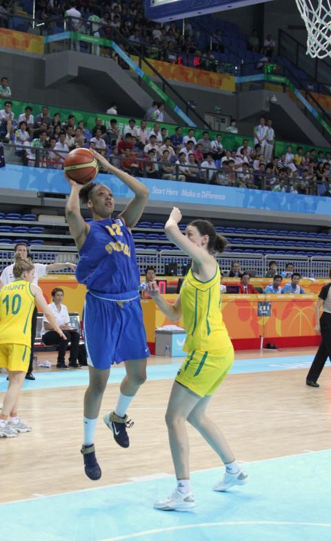 Basketsemi damer Universiaden 2011