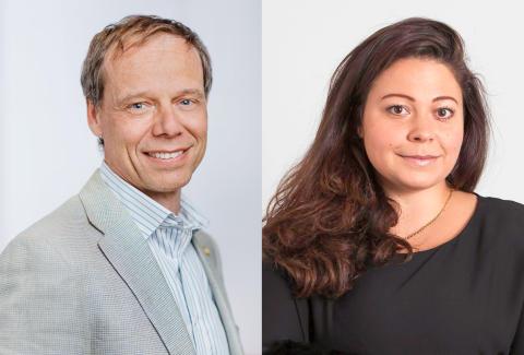 Christer Fuglesang och Claudia Olsson