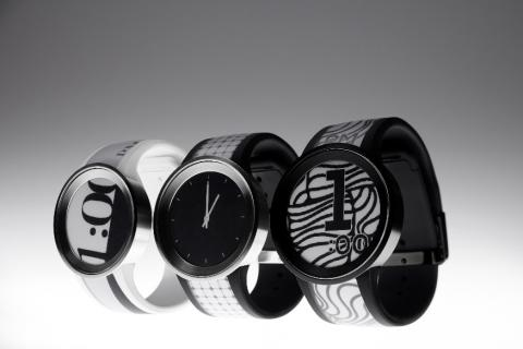 Sony présente une montre design innovante