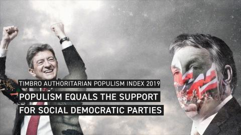 NEW STUDY: POPULISM EQUALS THE SUPPORT FOR SOCIAL DEMOCRATIC PARTIES IN EUROPE