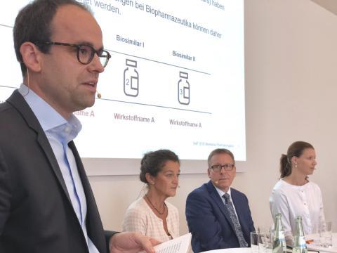 Pharmakovigilanz von Biologika: Experten fordern Rahmenbedingungen für eindeutige Zuordenbarkeit