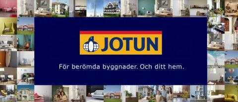 Jotun. För berömda byggnader. Och ditt hem.