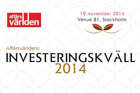 Affärsvärldens investeringskväll 2014