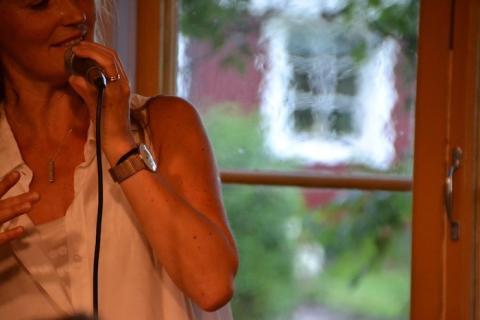 Sommarens andra musikkväll på Svalbo café