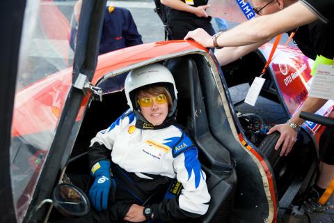 DTU's chauffør Pernille gør status