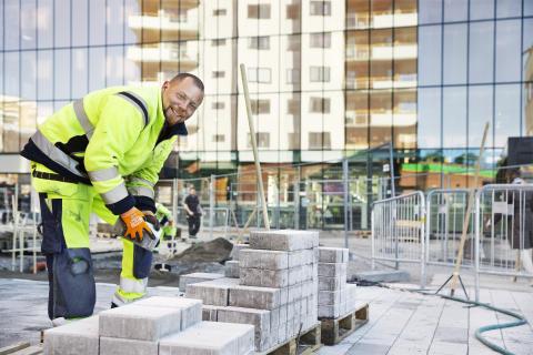 Sh bygg gör nya gator i Enköping