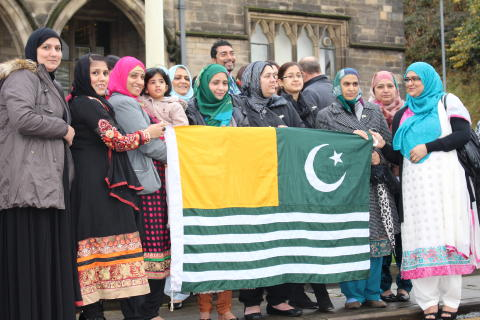 Rochdale borough celebrates the National Day of Kashmir