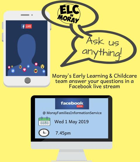FB live stream Q&A poster