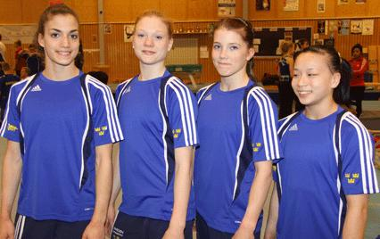 Damernas EM-lag i Artistisk Gymnastik Milano 2 - 5 april 2009